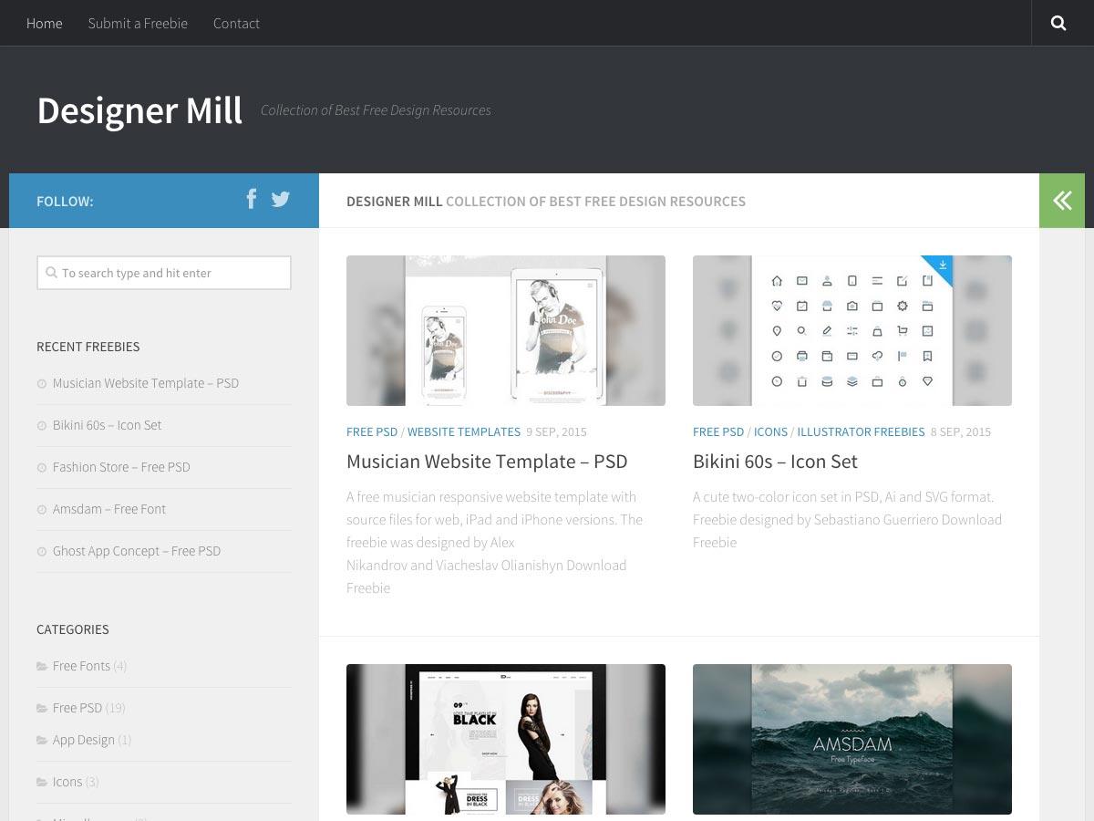 designer mill
