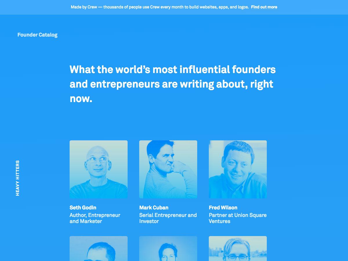founder catalog