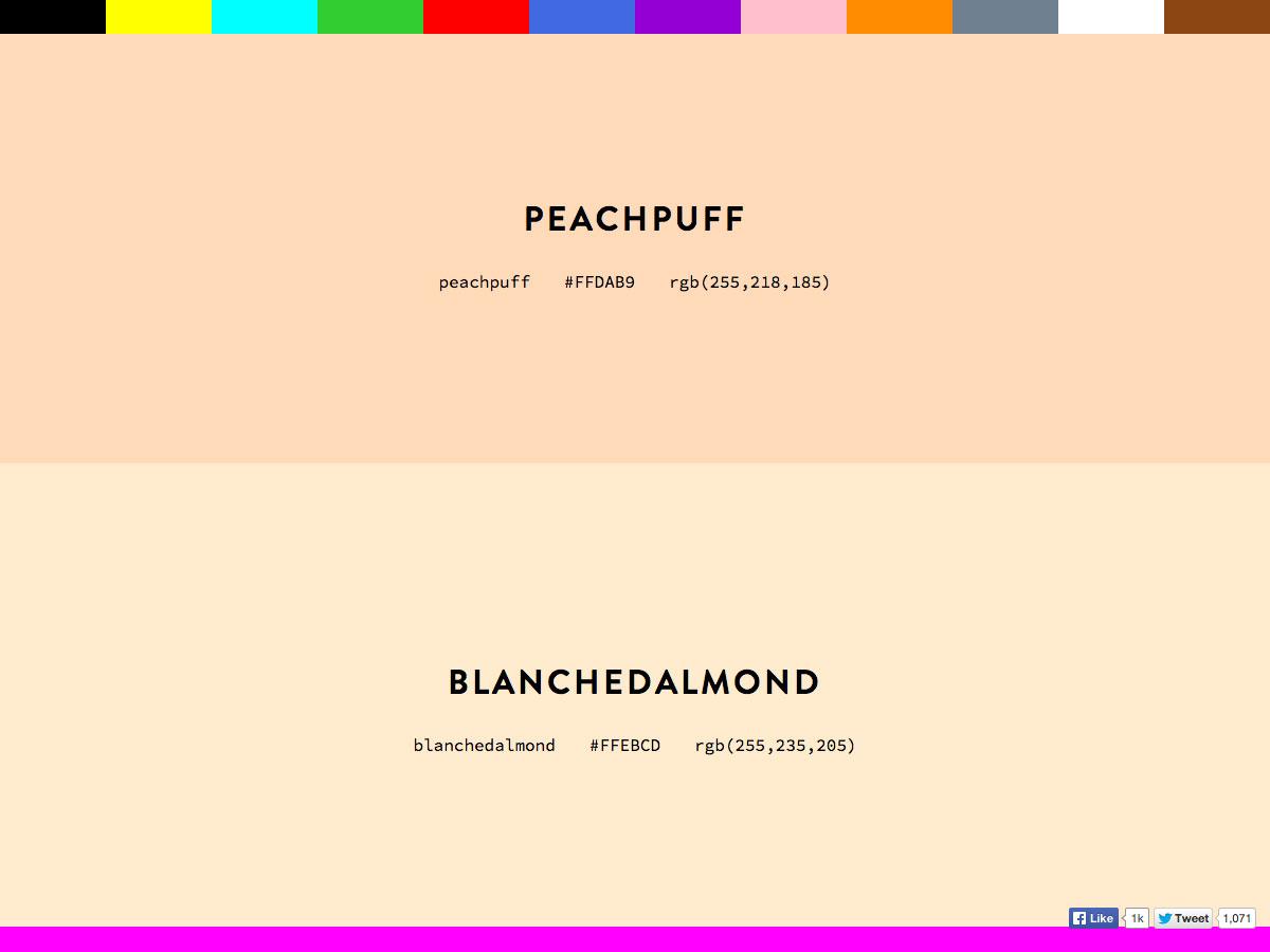 CSS Colours
