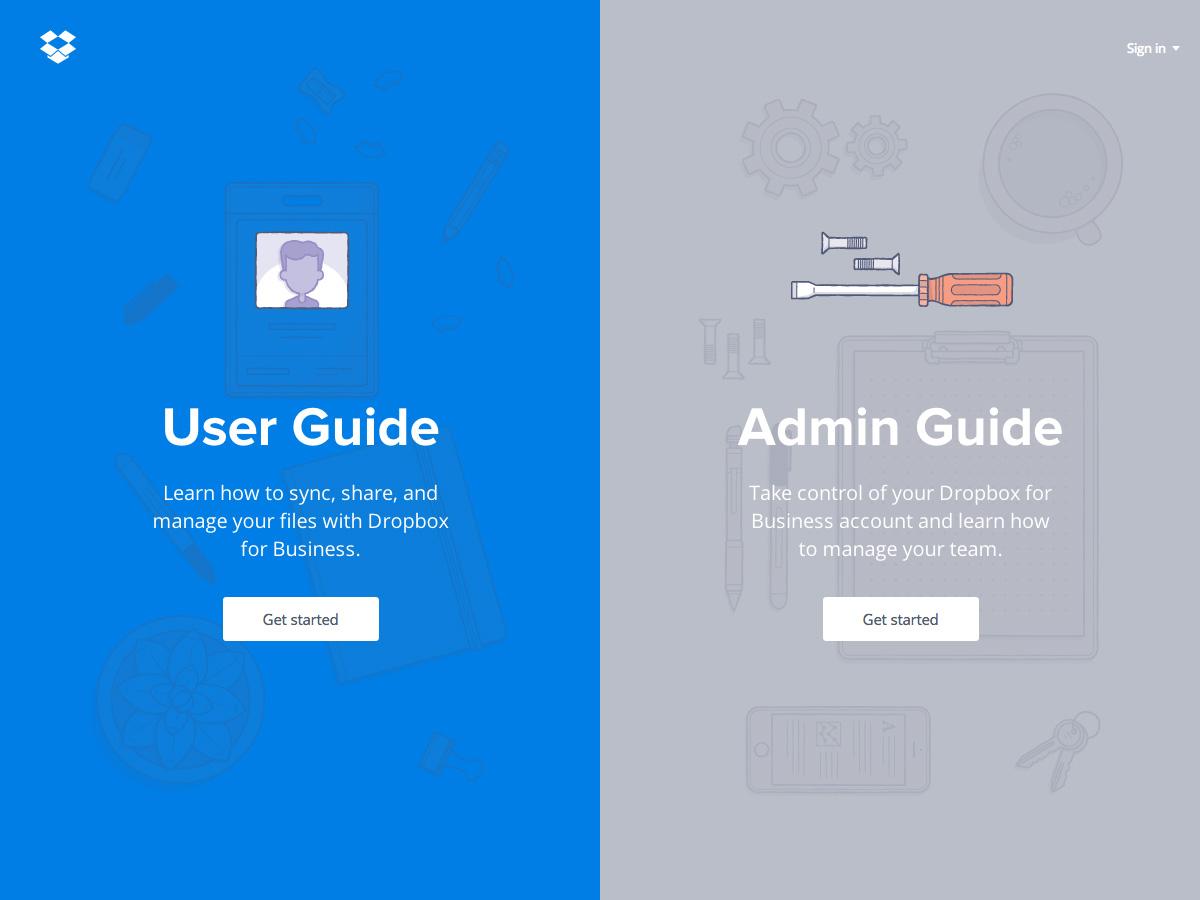 Dropbox Guides