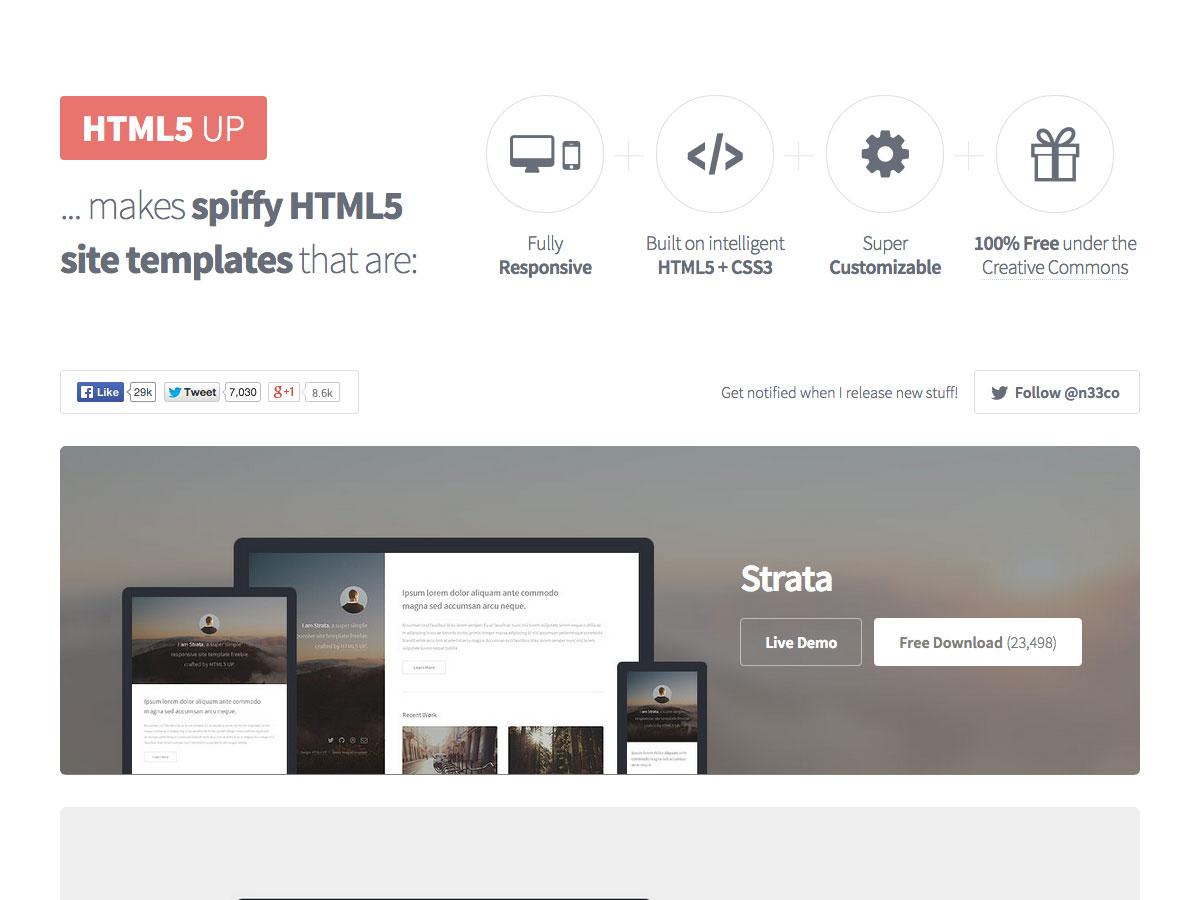 HTML5向上
