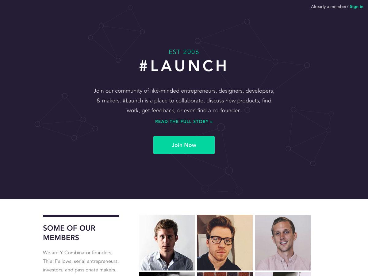 #Launch