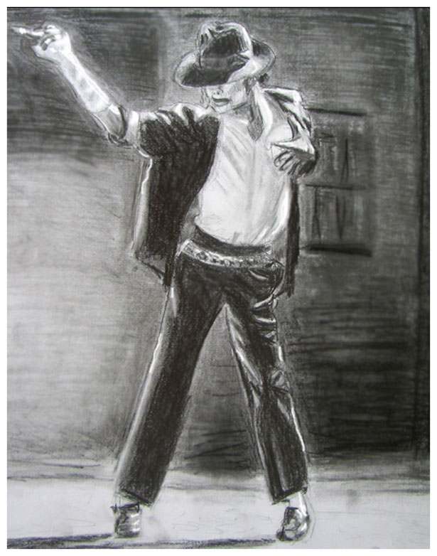 An Artistic Homage to Michael Jackson